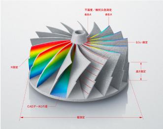 3DMAS-Labでのサービス 今まで難しかった真円度や円筒度の測定も可能 株式会社マスナガ