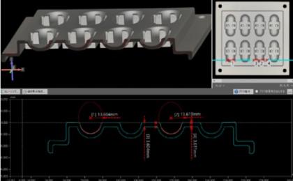 断面測定 2D-CAD、DXF出力にも対応 3DMAS-Lab 株式会社マスナガ